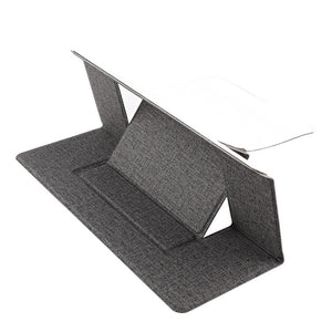 Adjustable Laptop Stand Laptop Pad Adhesive Invisible Stands Folding Bracket Portable Tablet Holder for iPad MacBook Laptops