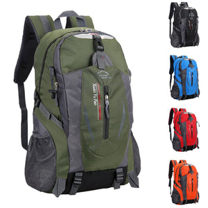 40 L New Men Nylon Travel Backpack Large Capacity Camping Casual Bagpack 15-inch Laptop Backpack Women Outdoor Hiking Bag