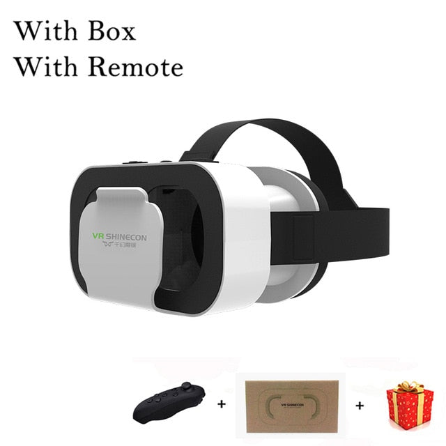 VR Shinecon G05A Casque Headset Virtual Reality Glasses 3D Helmet 3 D For iPhone Android Smart Phone Smartphone Goggles Mobile
