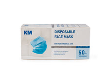 Load image into Gallery viewer, 3-ply Disposable Masks - 50 Masks per Box - NEW Reduced Price!