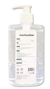 Sanitizer - 8 oz with Pump
