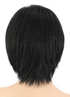 Short Straight Black Cosplay Wig CM223 - CosplayBuzz