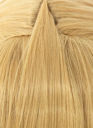 Sailormoon Tsukino Usagi Wavy Blonde Anime Cosplay Wig + Ponytails CM244 - CosplayBuzz