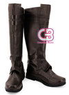 Star Wars Anakin Skywalker Custom-Made Brown Shoes / Boots CPA157 - CosplayBuzz