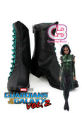 Marvel Guardians of the Galaxy Vol. 2 Mantis Custom-Made Black Shoes / Boots CPA163