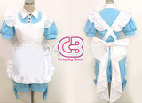 Black Butler Ciel in Wonderland Anime Cosplay Costume Maid Dress CS010C