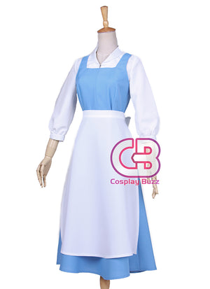 Disney Beauty and the Beast Belle Anime Cosplay Costume Maid Dress CS569 - CosplayBuzz