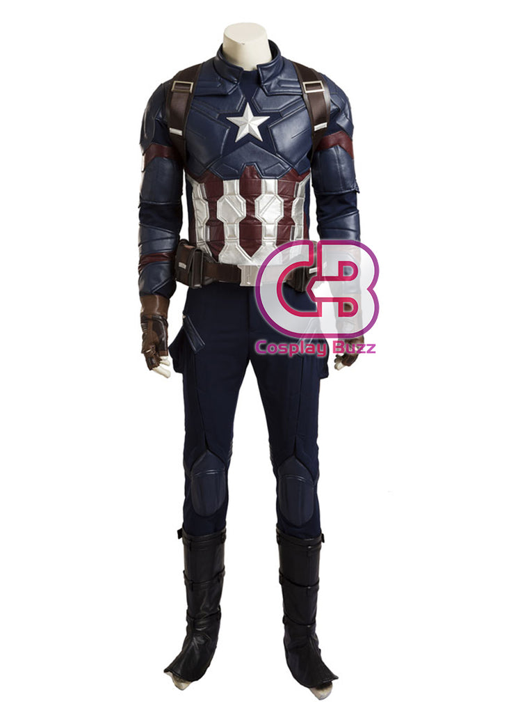 Marvel Captain America: Civil War Customizable Cosplay Costume CS583 - CosplayBuzz