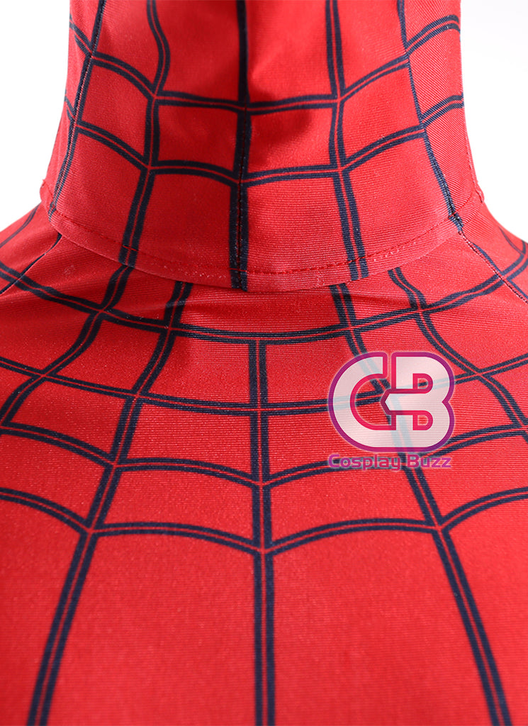 Marvel Comics Spider-Man: Homecoming Customizable Anime Cosplay Costume Outfit CS605