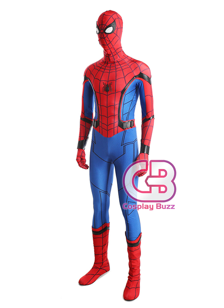 Marvel Spider-Man: Homecoming Customizable Cosplay Costume Outfit CS605 - CosplayBuzz
