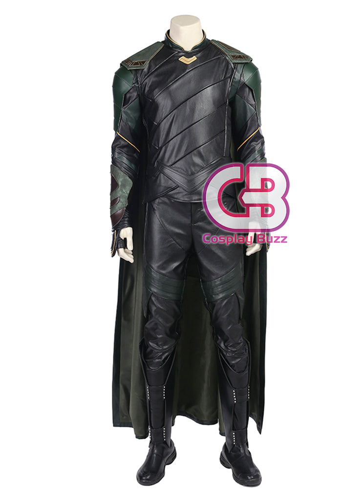 Marvel Comics Thor: Ragnarok Loki Customizable Anime Cosplay Costume Outfit CS606