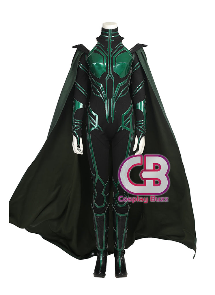Marvel Comics Thor: Ragnarok Hela Customizable Anime Cosplay Costume Outfit CS608