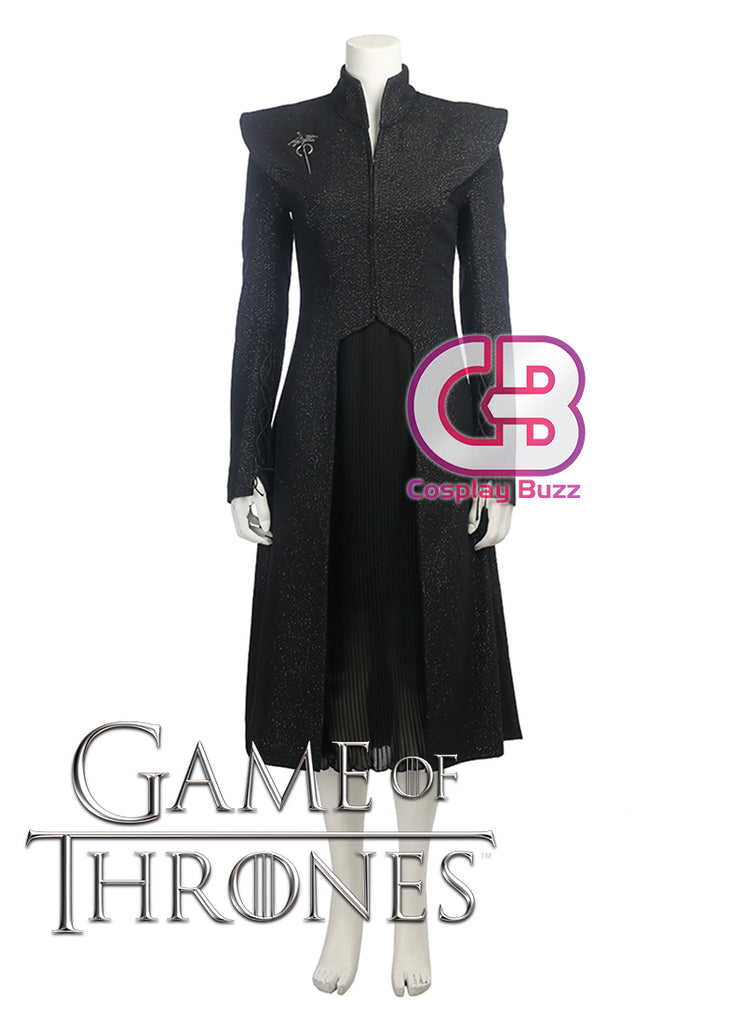 Game of Thrones Daenerys Targaryen Customizable Anime Cosplay Dress CS614