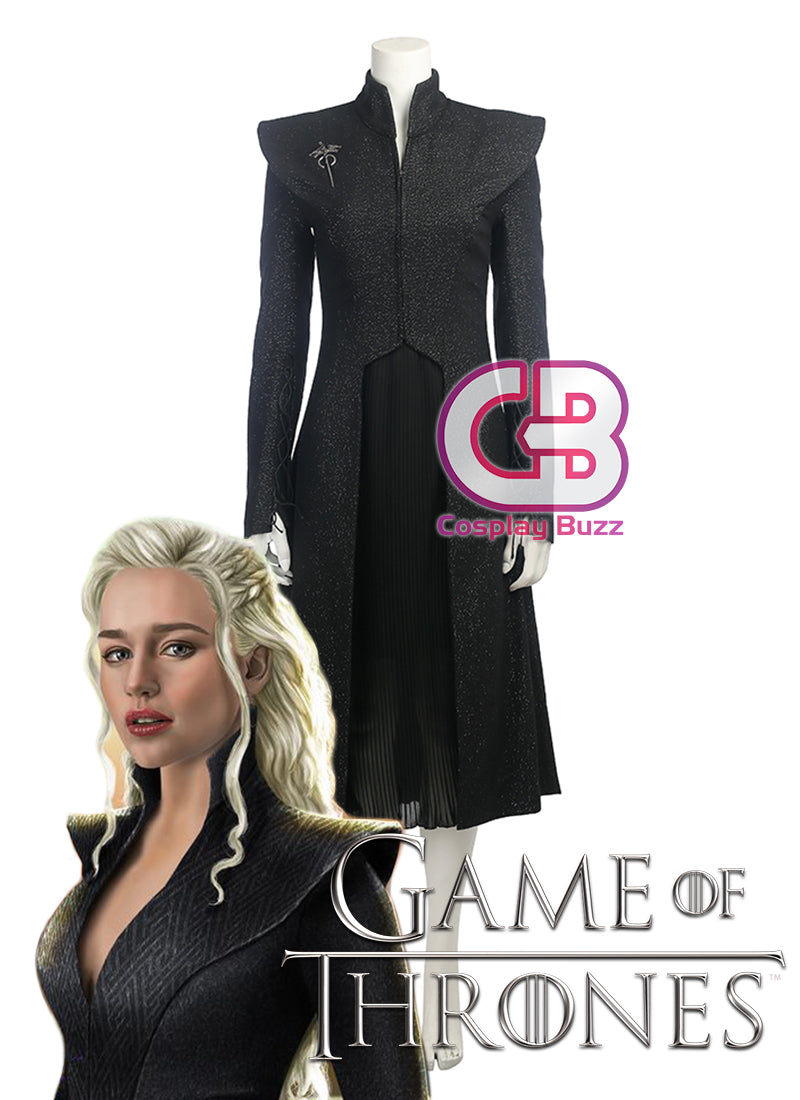 Game of Thrones Daenerys Targaryen Customizable Anime Cosplay Dress CS614 - CosplayBuzz
