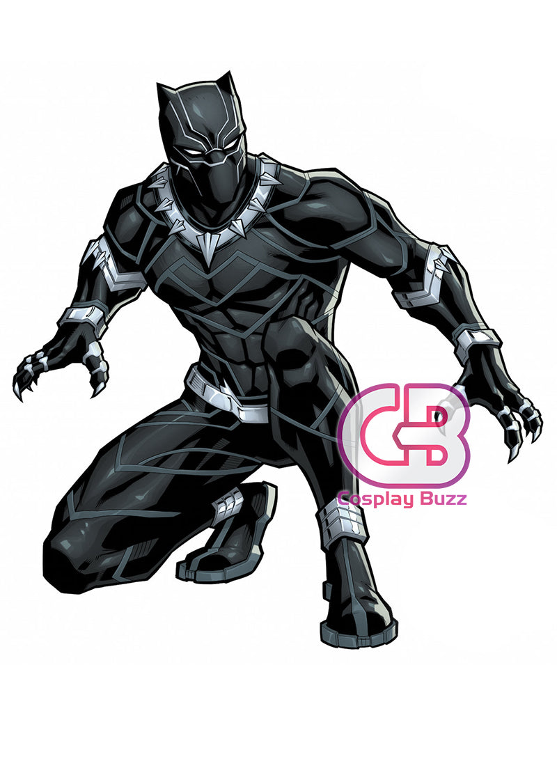 Marvel Black Panther Customizable Cosplay Costume Outfit CS622 - CosplayBuzz