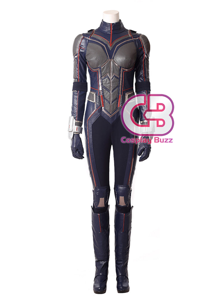 Marvel Ant-Man and the Wasp Wasp Customizable Cosplay Costume Outfit CS638
