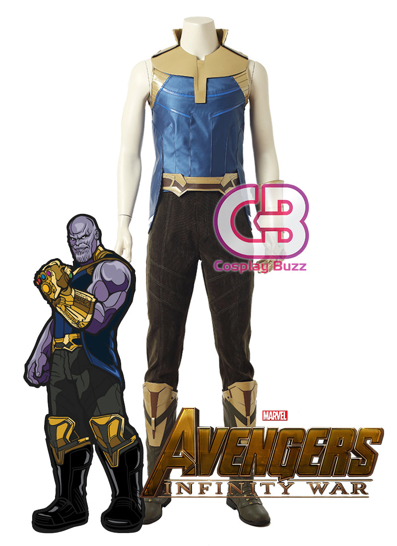Marvel Avengers: Infinity War Thanos Customizable Cosplay Costume Outfit CS639 - CosplayBuzz