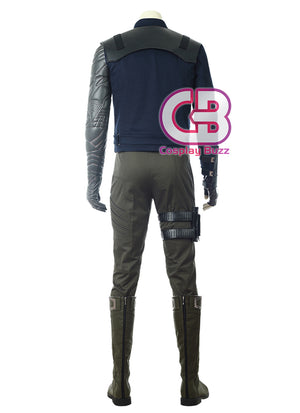 Marvel Avengers: Infinity War Winter Soldier Customizable Cosplay Costume Outfit CS640 - CosplayBuzz