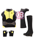 Marvel Deadpool 2 Negasonic Teenage Warhead Customizable Cosplay Costume Outfit CS651