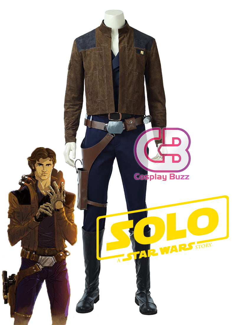 Solo: A Star Wars Story Solo Customizable Cosplay Costume Outfit CS683