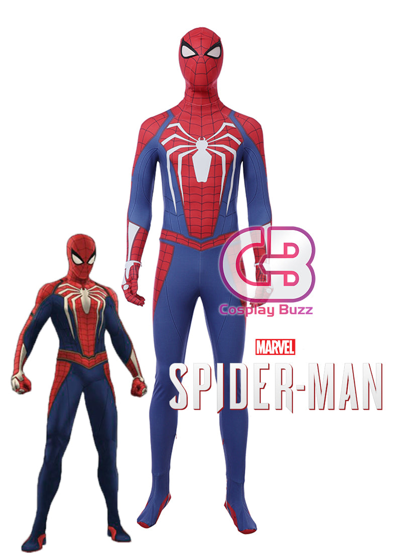 Marvel Spider-Man PS4 Customizable Cosplay Costume Outfit CS684