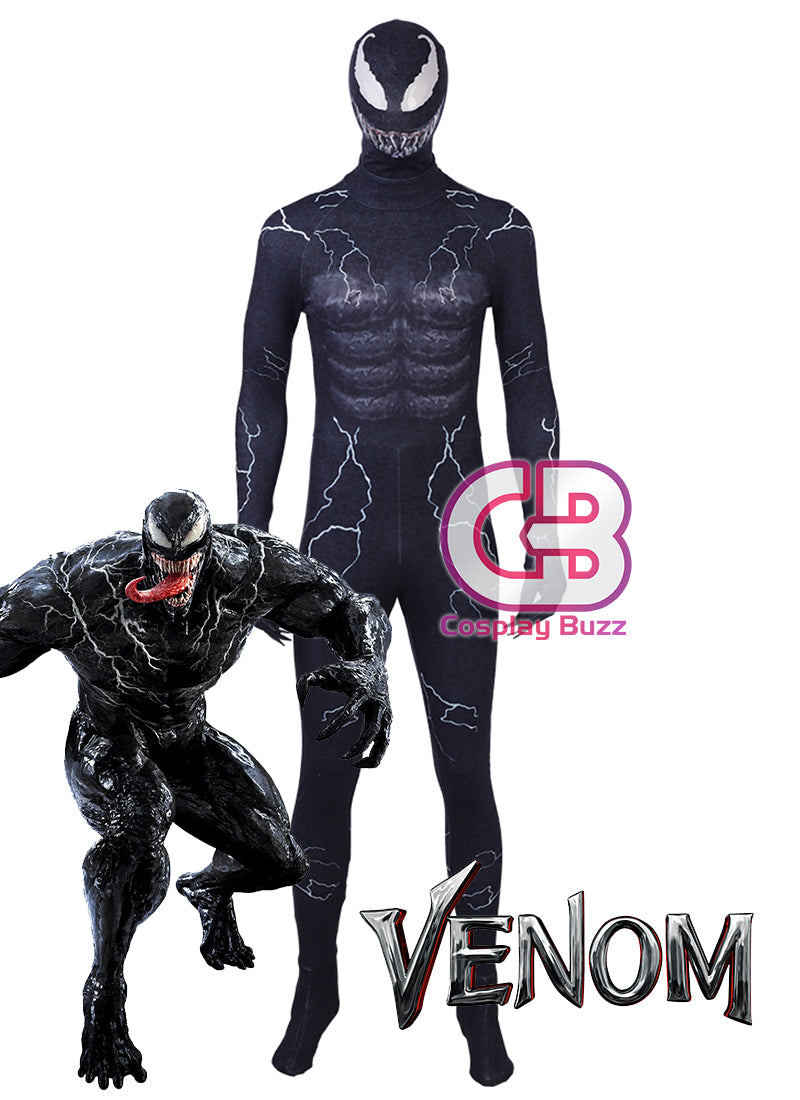 Marvel Venom Customizable Cosplay Costume Outfit CS688