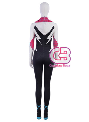 Spider-Man: Into the Spider-Verse Spider-Gwen Customizable Cosplay Costume Outfit CS695 - CosplayBuzz