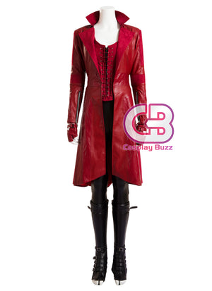 Marvel Captain America: Civil War Scarlet Witch Customizable Cosplay Costume Outfit CS697 - CosplayBuzz