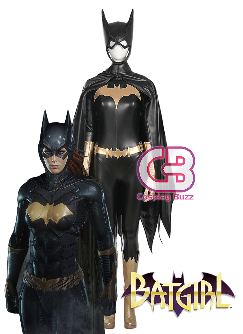 DC Batgirl Customizable Cosplay Costume Outfit CS698