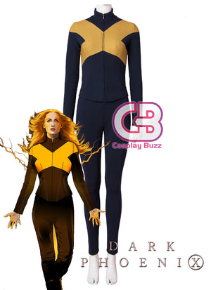 Marvel X-Men: Dark Phoenix Jean Grey Phoenix Customizable Cosplay Costume Outfit CS701 - CosplayBuzz