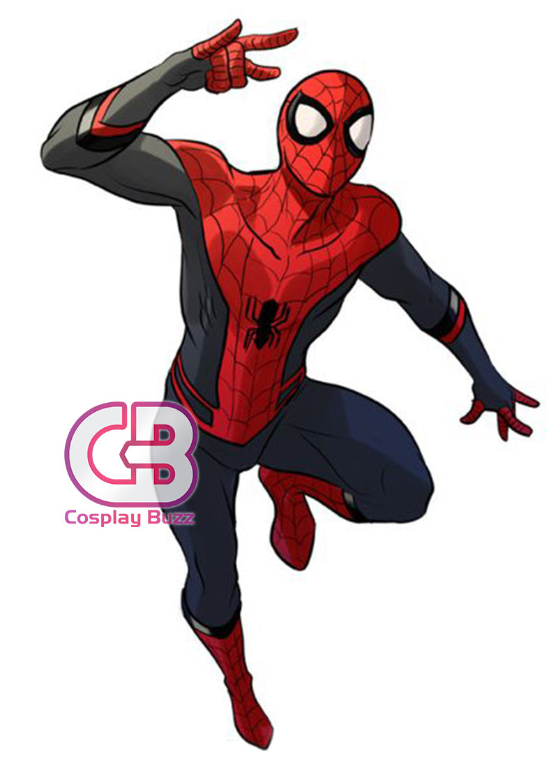 Marvel Spider-Man: Far From Home Peter Parker SpiderMan Customizable Cosplay Costume Outfit CS707 - CosplayBuzz
