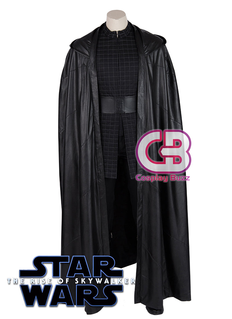 Star Wars: The Rise of Skywalker Kylo Ren Customizable Cosplay Costume Outfit CS712