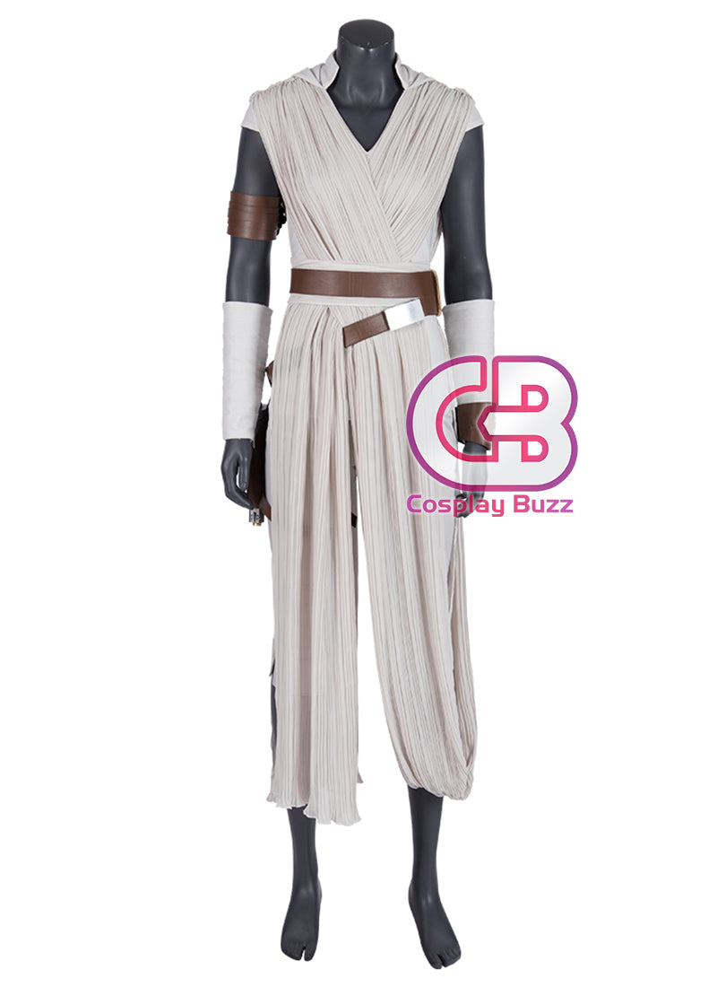 Star Wars: The Rise of Skywalker Rey Cosplay Costume Outfit CS713 - CosplayBuzz