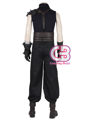 Final Fantasy VII Remake Cloud Strife Cosplay Costume Outfit CS717 - CosplayBuzz