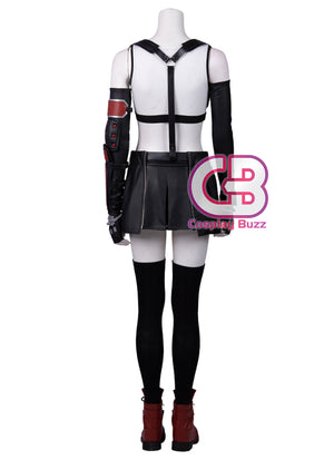 Final Fantasy VII Remake Tifa Lockhart Customizable Cosplay Costume Outfit CS718 - CosplayBuzz