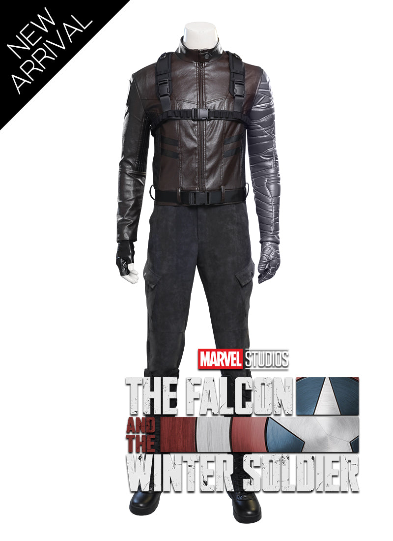Marvel The Falcon and the Winter Soldier Customizable Cosplay Costume Outfit CS740