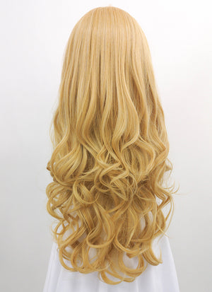 Long Wavy Light Blonde Cosplay Wig LC002 - CosplayBuzz