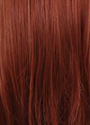 Long Straight Reddish Brown Lace Front Synthetic Hair Wig LF009 - CosplayBuzz