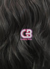 Long Wavy Natural Black Lace Front Synthetic Hair Wig LF095 - CosplayBuzz