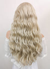 Disney Maleficent: Mistress of Evil Aurora Long Curly Light Ash Blonde Lace Front Synthetic Hair Wig LF101 - CosplayBuzz