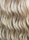 Long Wavy Light Ash Blonde Lace Front Synthetic Hair Wig LF101 - CosplayBuzz