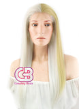 World of Warcraft Jaina Proudmoore Cosplay Long Straight Lace Front Synthetic Hair Wig LF1246