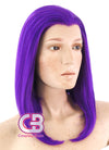DC Raven Medium Wavy Purple Lace Front Synthetic Hair Wig LF1602 - CosplayBuzz