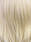 Medium Straight Light Blonde Lace Front Synthetic Hair Wig LF269