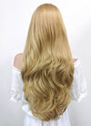 Long Wavy Blonde Lace Front Synthetic Hair Wig LF323 - CosplayBuzz
