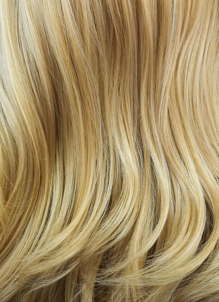 "26"" Long Curly Blonde Lace Front Synthetic Hair Wig LF323 - CosplayBuzz"