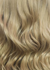 Long Wavy Ash Blonde Lace Front Synthetic Hair Wig LF373 - CosplayBuzz