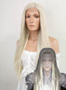 The Hobbit Thranduil Long Straight Light Blonde Lace Front Synthetic Hair Wig LF772 - CosplayBuzz