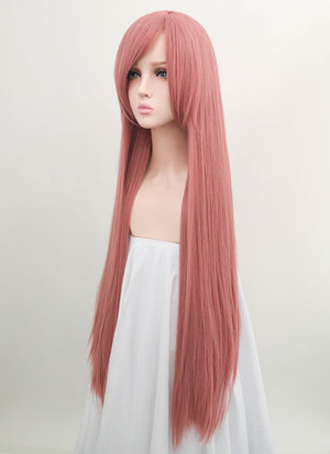 Long Straight Pink Cosplay Wig LW003 - CosplayBuzz