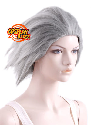 DEVIL SURVIVOR 2 Wakui keita Short Grey Anime Cosplay Wig MY041 - CosplayBuzz